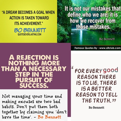 Select Quotes from Year To Success by Bo Bennett